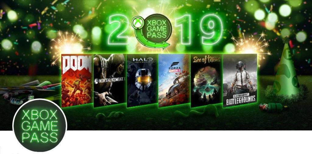 Xbox Game Pass 2018 год