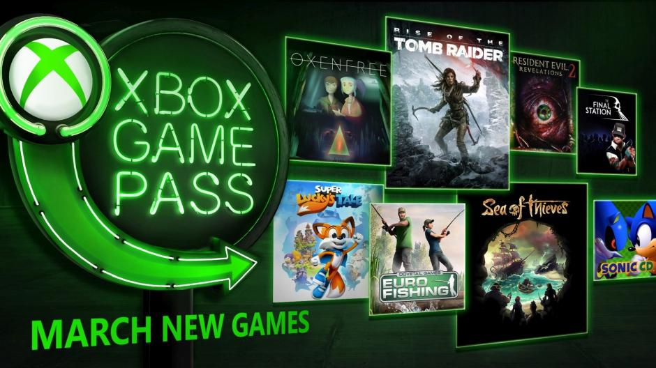 Xbox Game Pass апрель 2018