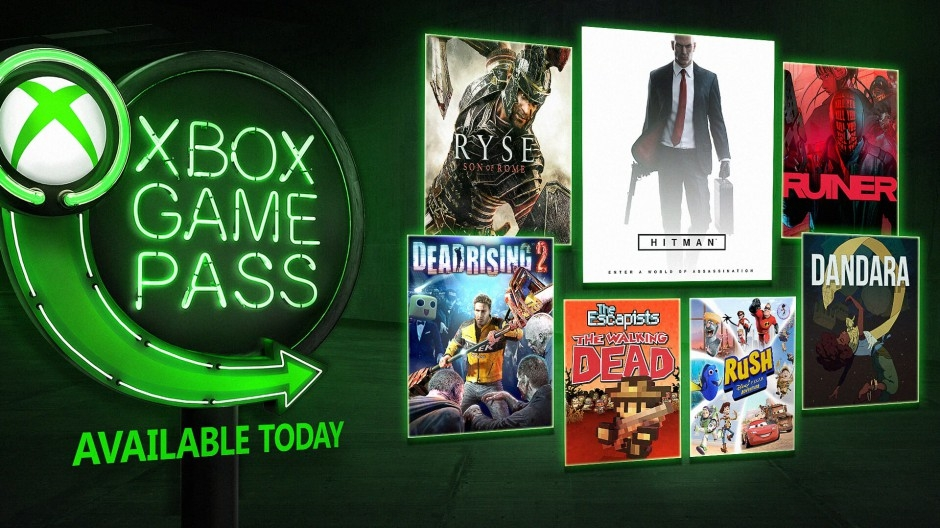 Xbox Game Pass август 2018