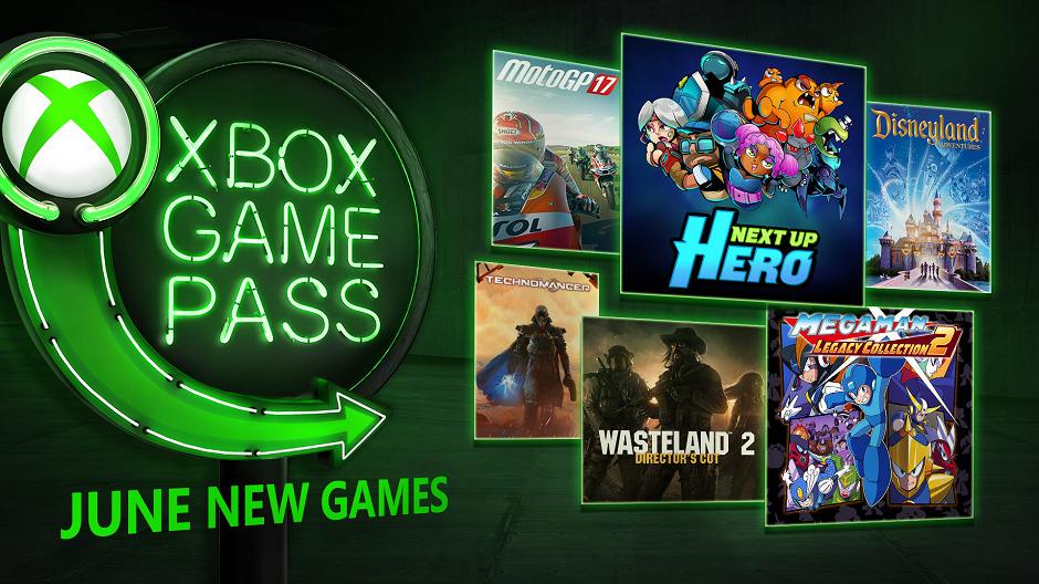 Xbox Game Pass июнь 2018