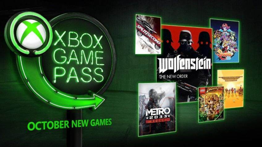 Xbox Game Pass октябрь 2018