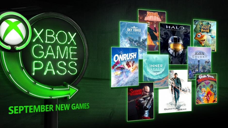 Xbox Game Pass сентябрь 2018