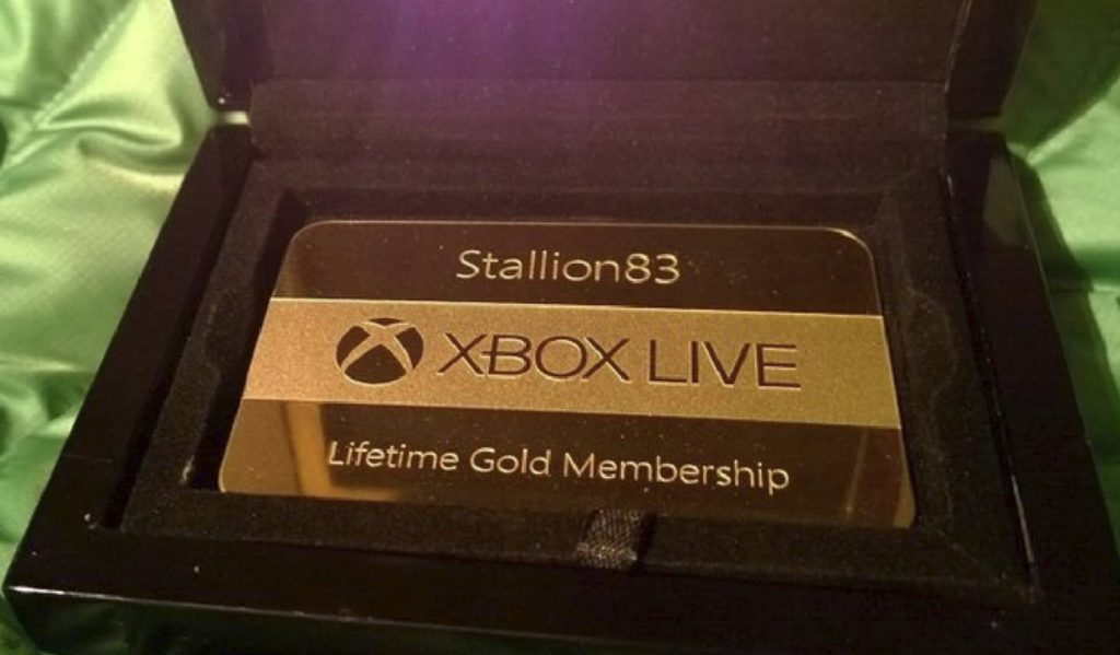 Xbox Live Gold Lifetime