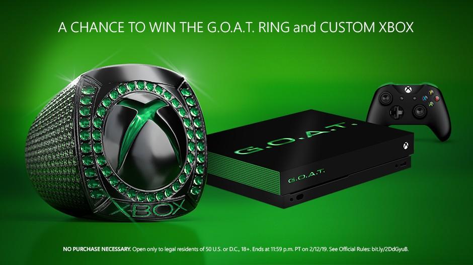 Xbox One X GOAT