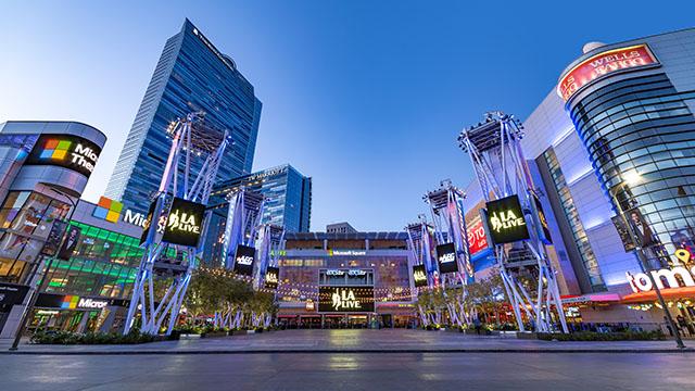 Microsof Square Xbox Plaza