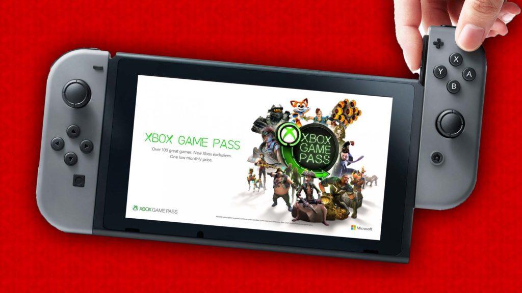 Nintendo Switch GAME PASS