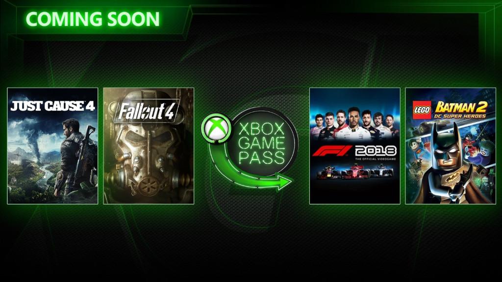 Xbox Game Pass Март 2019
