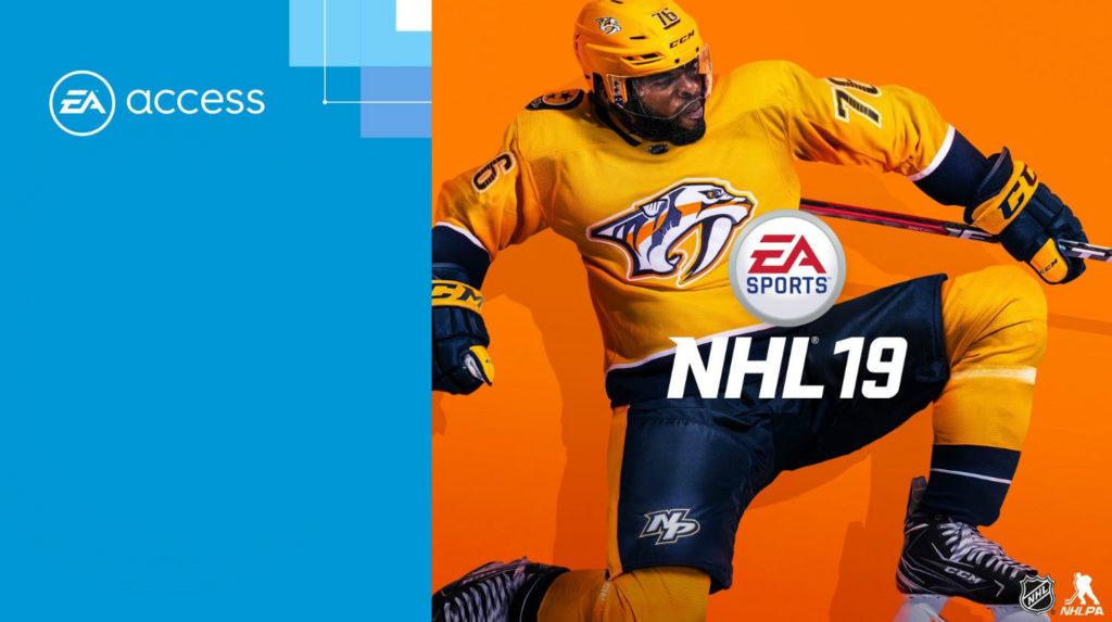EA Access NHL 19 теперь доступна в The Vault