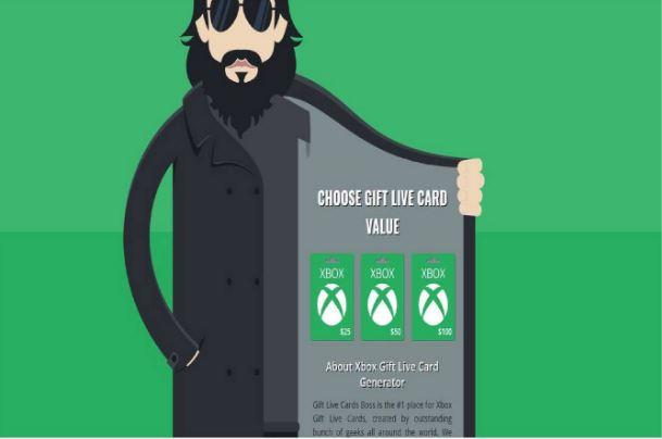 Подарочные карты Xbox
