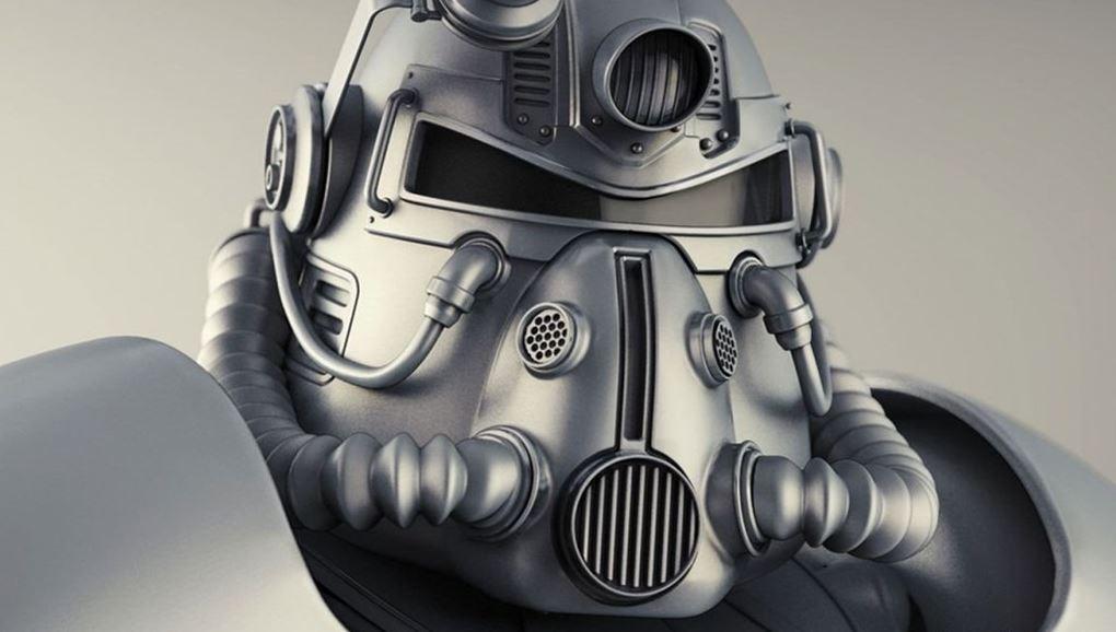 Fallout 76 T-51b Power Armor Helmet