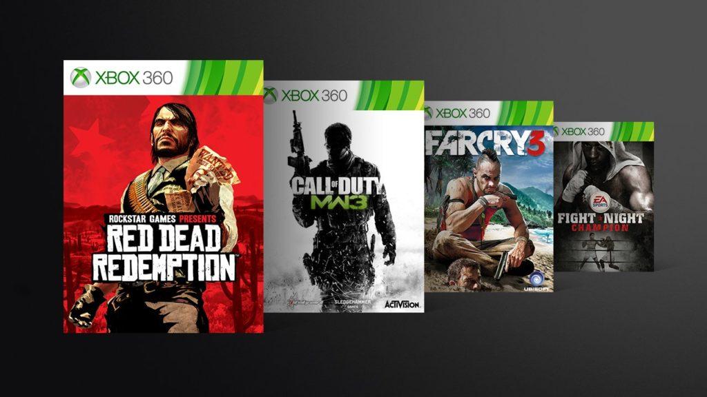 Распродажа обратносовместимых игр на Xbox One