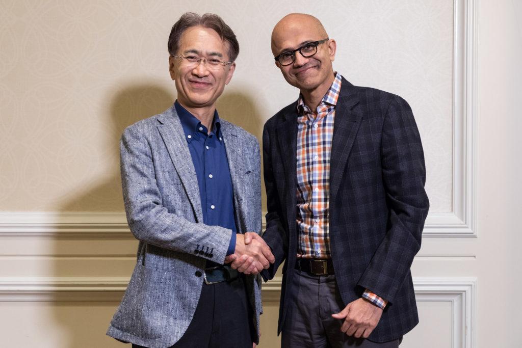 Sony и Microsoft изучает возможность стратегического партнёрства