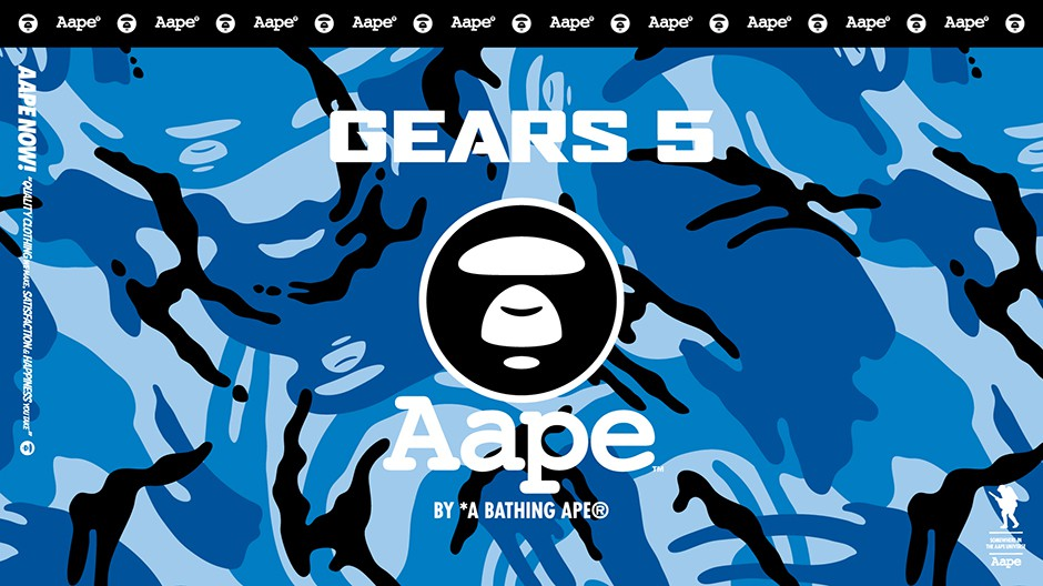 AAPE_Gear_Xbox_Wire