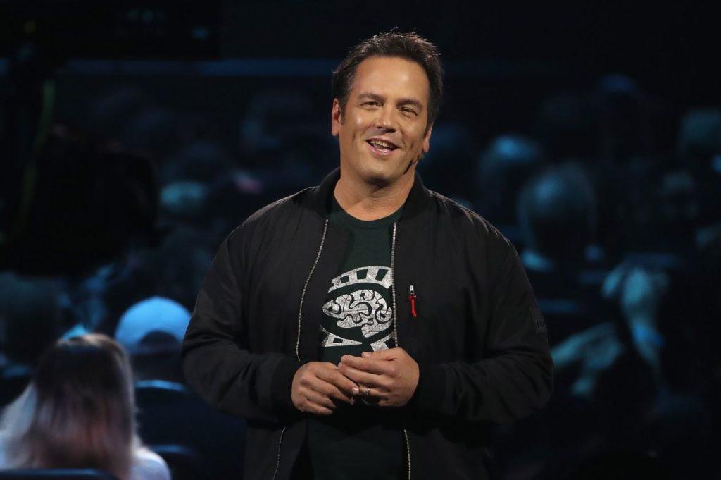 Фил Спенсер (Phil Spencer) на E3