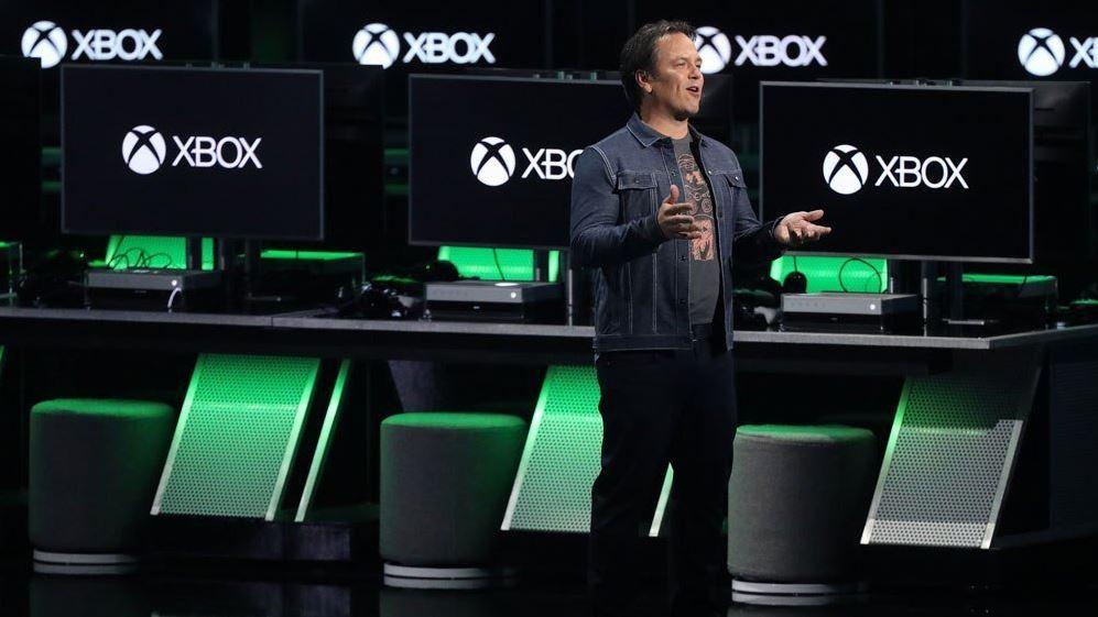 Фил Спенсер (Phil Spencer) на E3 2019