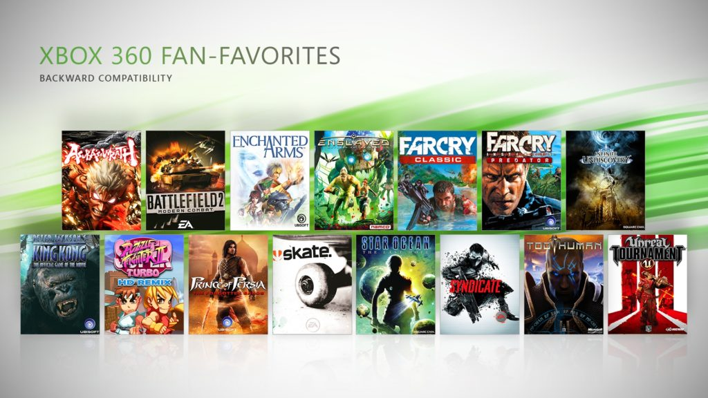 New Xbox 360 Fan-Favorites