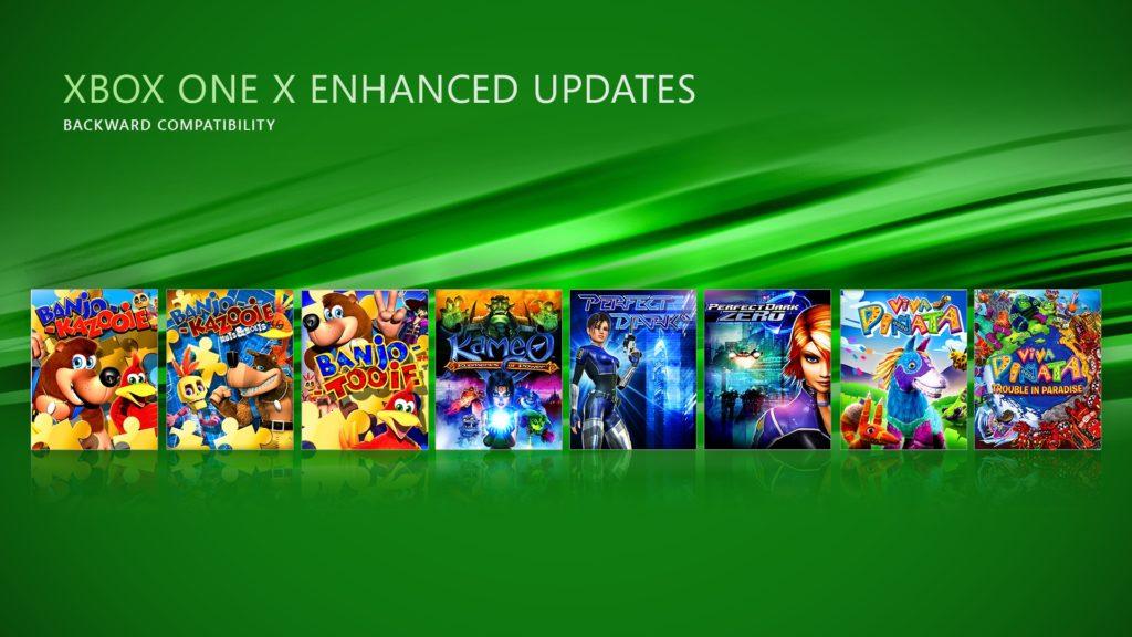 New Xbox One X Enhanced Updates