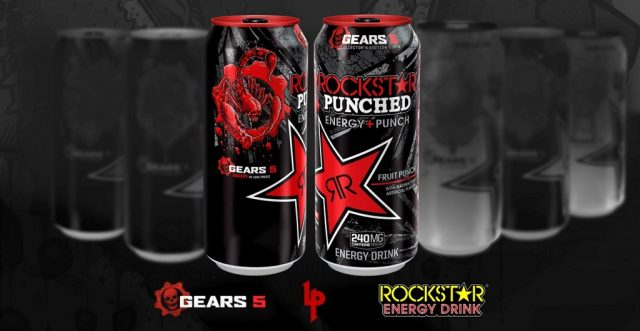 Xbox и Rockstar Energy Drink Gears 5
