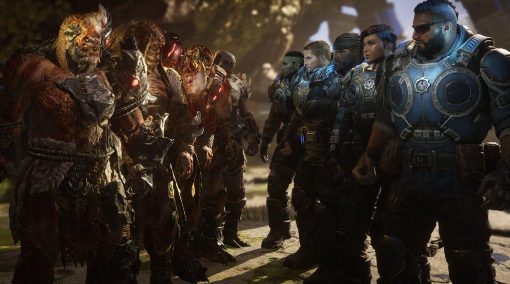 Gears 5 Игроки против Игроков