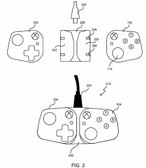 Microsoft запатентовала съёмный контроллер для мобильных и портативных устройств