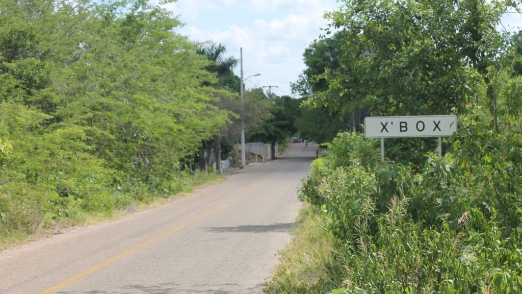 в Мексике есть город под названием XBOX знак