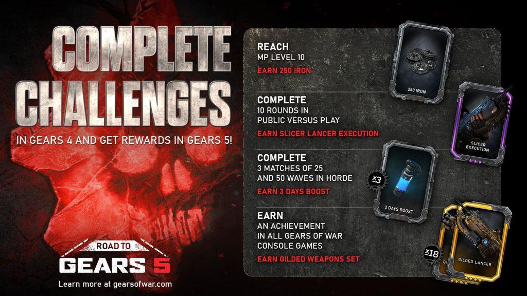 Игроки Gears of War 4 могут выполнить новые испытания, чтобы получить уникальный контент в Gears 5