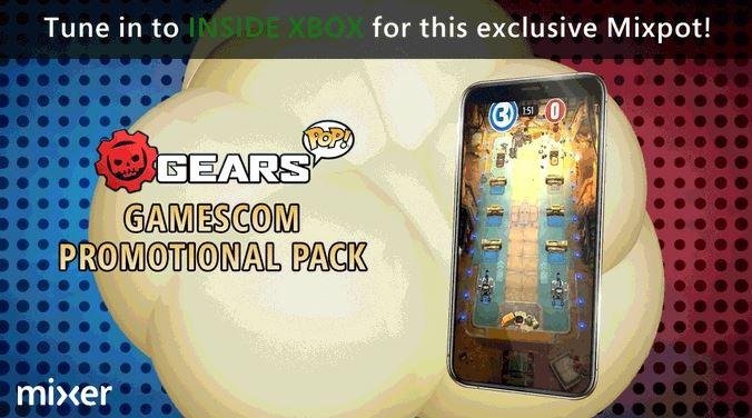 MixPot за просмотр Gamescom 2019 Gears POP!