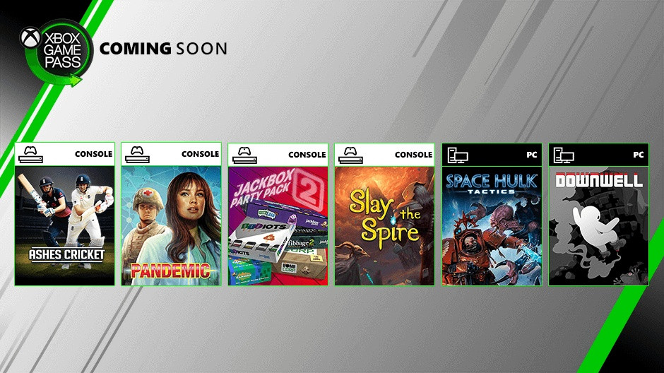 Xbox Game Pass август 2019 года