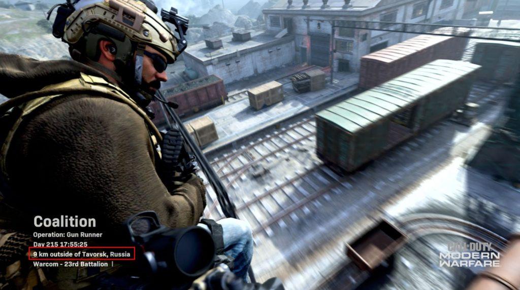 Call of Duty Modern Warfare Россия