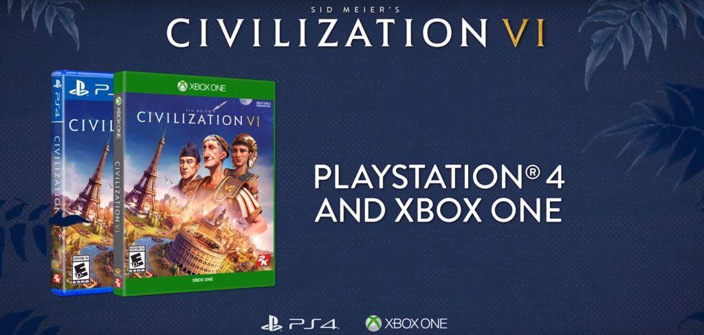 Civilization 6 выйдет на Xbox One и PS 4 в ноябре 2019