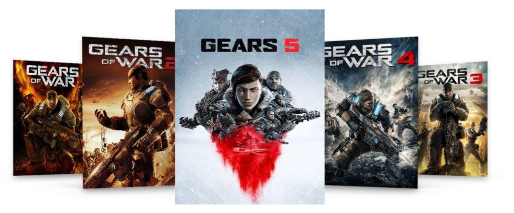 Gears 5 Bundle Pack для Xbox One со скидкой 72%