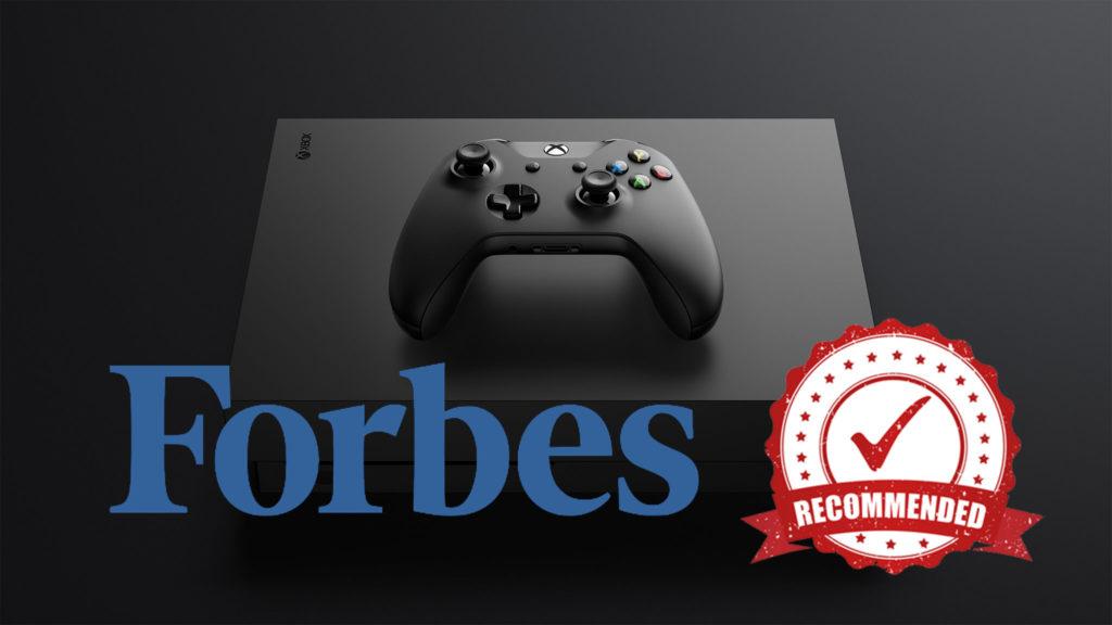 Пять причин купить Xbox One X вместо PS4 Pro (по версии журнала Forbes)