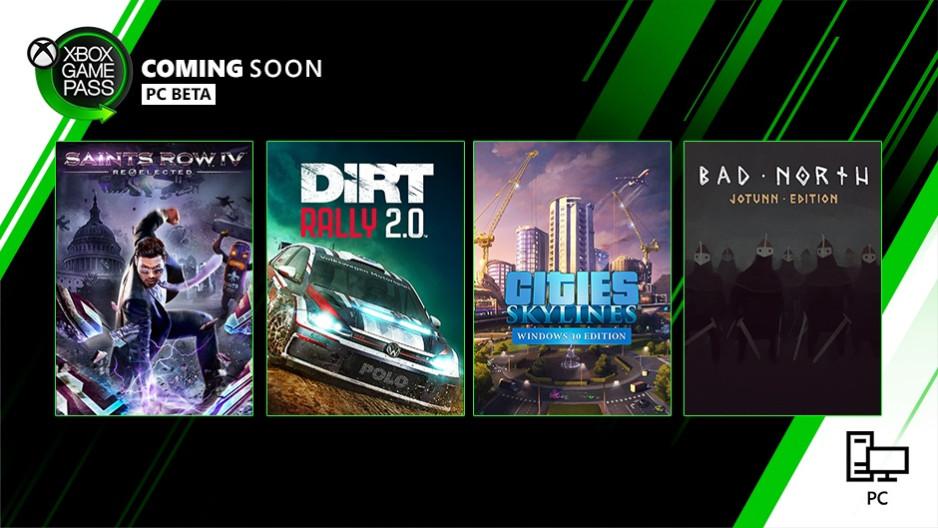Xbox Game Pass для PC сентябрь 2019 года