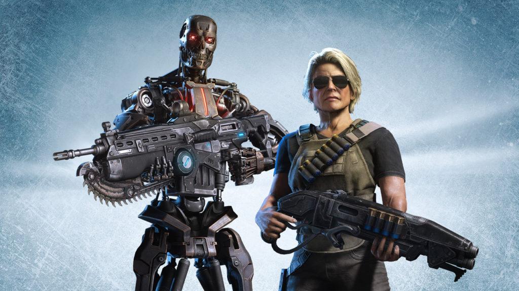 Терминатор Тёмные судьбы бесплатно Gears 5