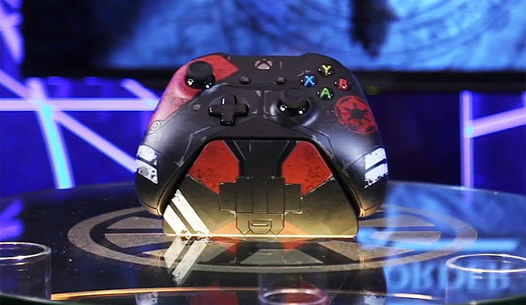 Новые аксессуары для Xbox One к выходу Star Wars Jedi: Fallen Order