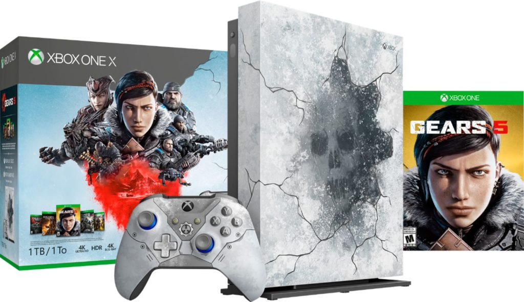Xbox One X Gears of War