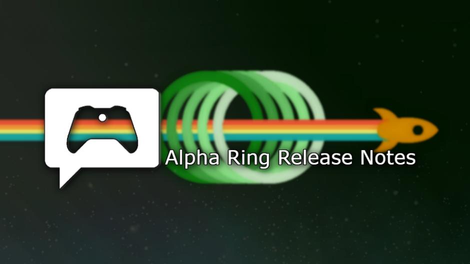 alpha ring xbox insider