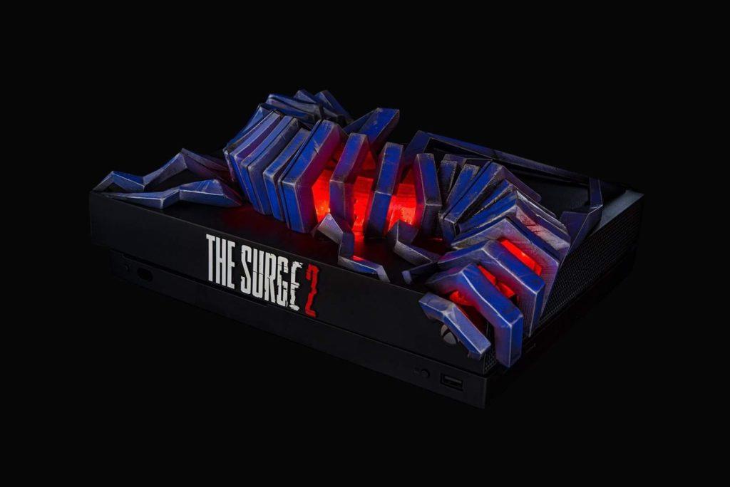 Кастомный Xbox One X Surge 2