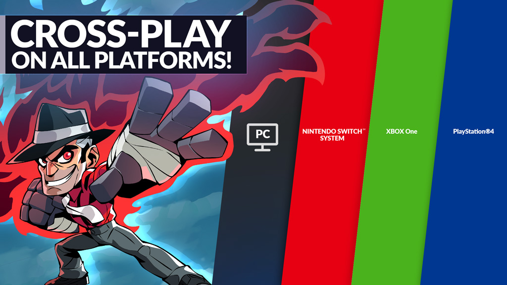 Brawlhalla теперь поддерживает Cross-play между всеми доступными платформами