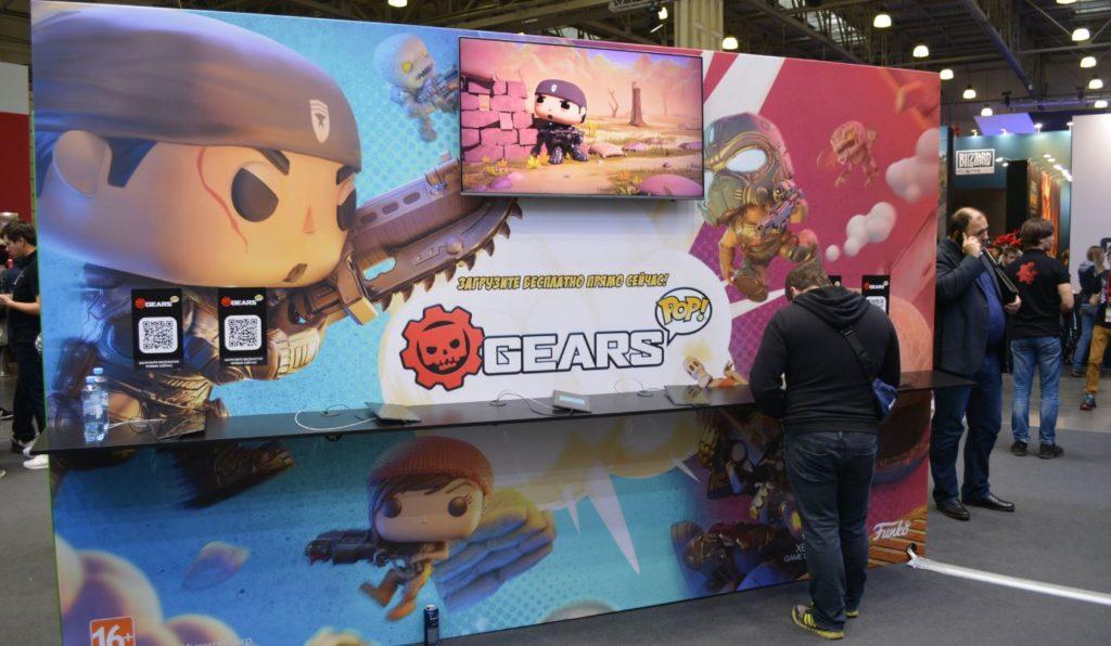 Gears POP! на ИгроМире 2019
