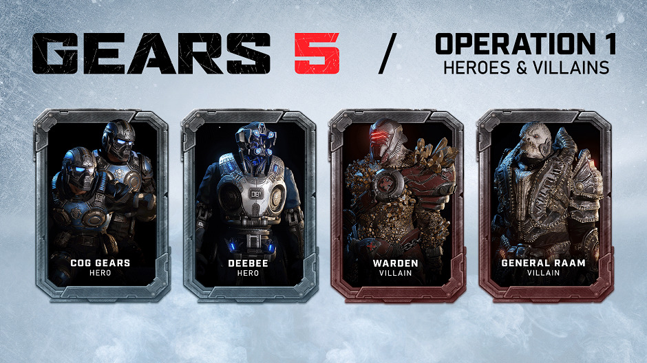 COG Gear, DeeBee, Warden и General RAAM