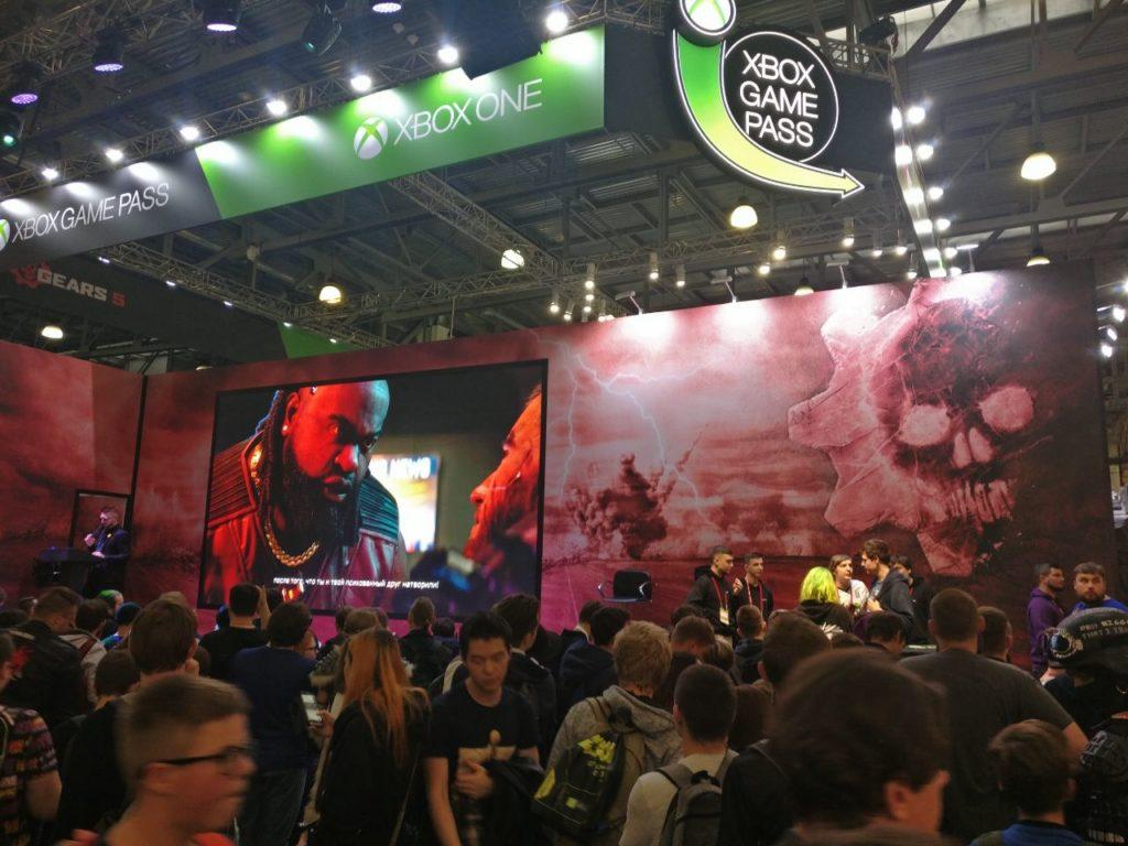 Сцена Xbox Russia второй день ИгроМира 2019