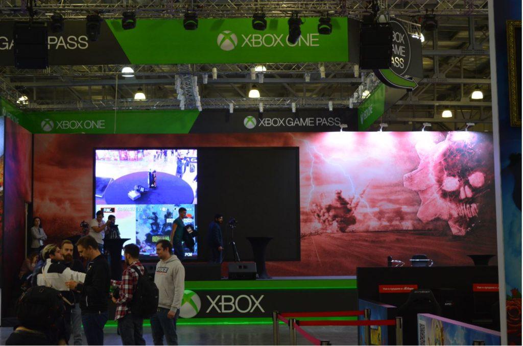Сцена Xbox Russia на ИгроМире 2019