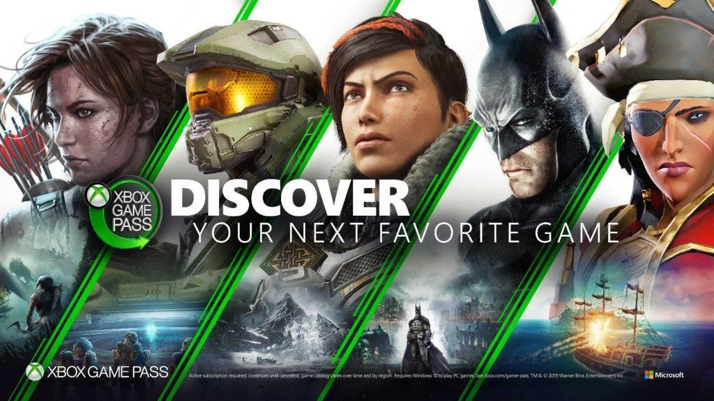 Xbox Game DISCOVER YOUR NEXT FAVORITE GAME