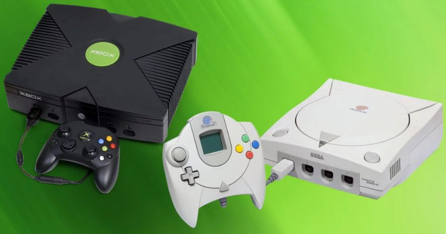 Xbox original and Dreamcast