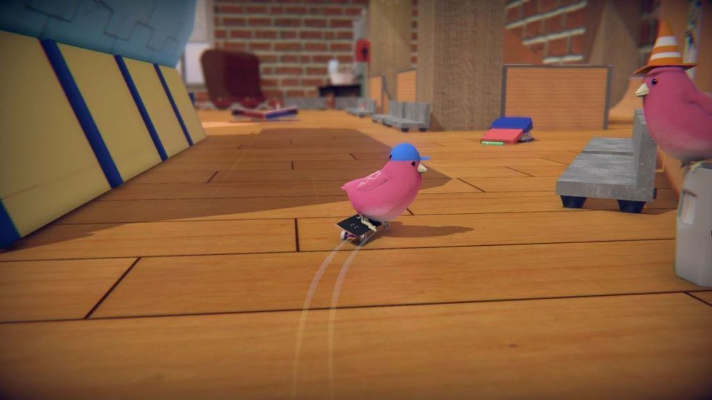 SkateBird [Glass Bottom]