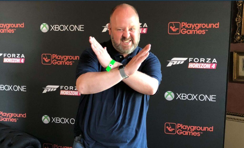 Директор по маркетингу Xbox Аарон Гринберг (Aaron Greenberg)