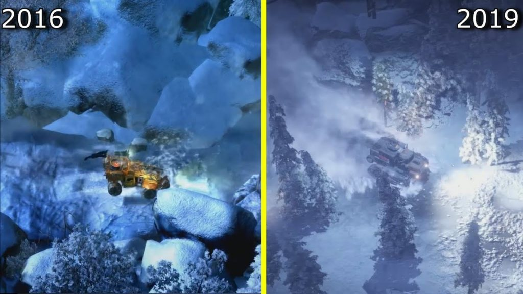 Wasteland 3 2016 VS Wasteland 3 2019
