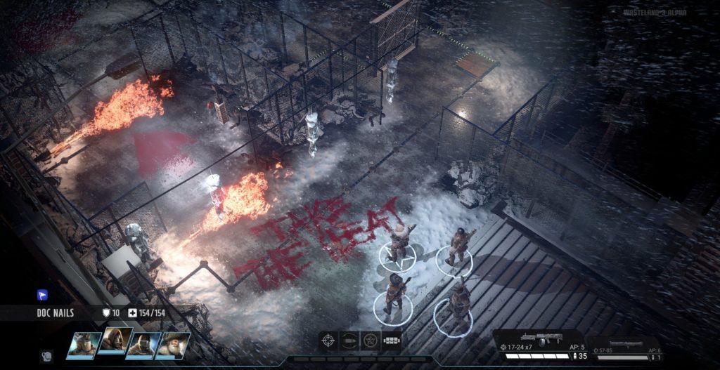 Wasteland 3 игровой процесс