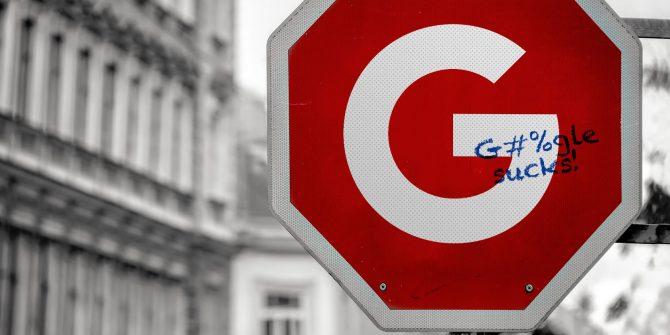 Неадекватная политика Google